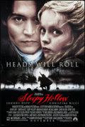 """Movie Posters:Fantasy, Sleepy Hollow (Paramount, 1999). One Sheets (2) (26.75"""" X 39.75"""")DS Advance Horseman & Characters Style. Fantasy.. ... (Total: 2Items)"""