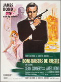 "Movie Posters:James Bond, From Russia with Love (United Artists, R-1970s). French Grande (47"" X 62.75""). James Bond.. ..."