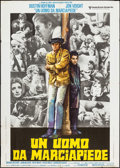 "Movie Posters:Academy Award Winners, Midnight Cowboy (United Artists, 1969). Italian 2 - Foglio (39.25"" X 55""). Academy Award Winners.. ..."