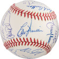 Autographs:Baseballs, 1995 Seattle Mariners Team Signed Baseball PSA/DNA Mint 9 WithRookie Alex Rodriguez! ...