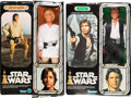"Movie Posters:Science Fiction, Star Wars (Kenner, 1978 & 1979). Action Figures (2) (4"" X 12"")in Original Packaging (9"" X 13"") Han Solo and Luke Skywalker....(Total: 2 Items)"