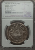 Mexico, Mexico: Republic 8 Reales 1824 Do-RL VF Details (Scratches) NGC,...