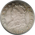 Bust Quarters: , 1820 25C Small 0 MS67 NGC. B-3, R.3. Boldly struck throughout and exceptional quality for this date and type. Toned with ri...