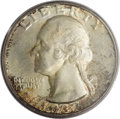 Washington Quarters: , 1932-D 25C MS65 PCGS. Only 436,800 pieces were produced of the1932-D Quarter. And as such, it is always a highly desirable...