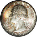 Washington Quarters: , 1951-S 25C MS68 NGC. The 1951-S quarter is downright rare in thelofty grade of MS68. To date, NGC and PCGS have certified ...