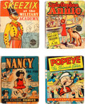 Big Little Book:Miscellaneous, Big Little Book Comic Related Group of 8 (Whitman, 1930s)....(Total: 8 Comic Books)