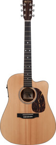 Musical Instruments:Acoustic Guitars, 2005 Martin DC-16GTE Natural Acoustic Electric Guitar, Serial #1091589....