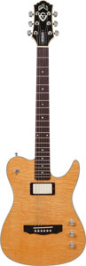 Musical Instruments:Electric Guitars, 1994 Guild CR-1 Crossroads Natural Solid Body Electric Guitar, Serial # FA000013....
