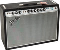 Musical Instruments:Amplifiers, PA, & Effects, 1968 Fender Deluxe Reverb Black Guitar Amplifier, Serial #A25559....