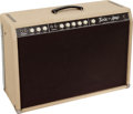 Musical Instruments:Amplifiers, PA, & Effects, 1961 Fender Twin Amp White Guitar Amplifier, Serial # 00238....