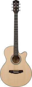 Musical Instruments:Acoustic Guitars, 2000's Fretlight FG-507 Natural Acoustic Guitar, Serial #WSM261318.0080....