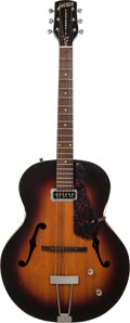 Musical Instruments:Electric Guitars, Circa 1955 Gretsch Model 6185 Electromatic Spanish Sunburst ArchtopElectric Guitar, Serial # 4649....