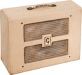 Musical Instruments:Amplifiers, PA, & Effects, 1955 Gibson BR-9 Tan Guitar Amplifier, #10890....