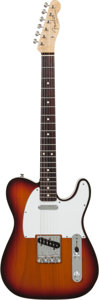 Musical Instruments:Electric Guitars, 1993 Fender Custom Shop '62 Telecaster Custom Sunburst Solid BodyElectric Guitar, Serial # 4 of 12....