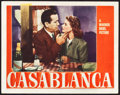 "Movie Posters:Academy Award Winners, Casablanca (Warner Brothers, 1942). Lobby Card (11"" X 14"").. ..."