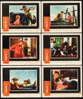 "Movie Posters:Drama, Giant (Warner Brothers, 1956). Lobby Cards (6) (11"" X 14"").. ... (Total: 6 Items)"