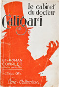 """Movie Posters:Horror, The Cabinet of Dr. Caligari (Cine Collection, Paris, 1922). French Magazine (6.5"""" X 9.5""""). ..."""