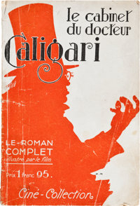 """The Cabinet of Dr. Caligari (Cine Collection, Paris, 1922). French Magazine (6.5"""" X 9.5"""")"""