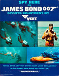 "Movie Posters:James Bond, Thunderball Snorkel Blaster & Swimming Fins (Voit, 1965).Snorkel Blaster & Swimming Fins in Original Packaging (3.25"" X5.2... (Total: 3 Items)"