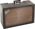 Musical Instruments:Amplifiers, PA, & Effects, 1966 Univox U-75 Black Guitar Amplifier, Serial # 6659....