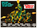 "Movie Posters:War, The Dirty Dozen (MGM, 1967). British Quad (30"" X 40"").. ..."