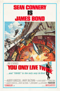 "Movie Posters:James Bond, You Only Live Twice (United Artists, 1967). One Sheet (27"" X 41"")Style A.. ..."