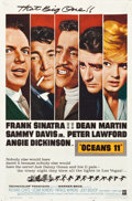 "Movie Posters:Crime, Ocean's 11 (Warner Brothers, 1960). One Sheet (27"" X 41"").. ..."