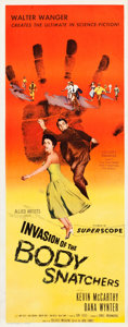 """Movie Posters:Science Fiction, Invasion of the Body Snatchers (Allied Artists, 1956). Insert (14"""" X 36"""").. ..."""