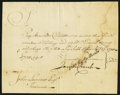 Colonial Notes:Connecticut, Connecticut Pay Table Office Feb. 29, 1780 Very Fine-ExtremelyFine.. ...