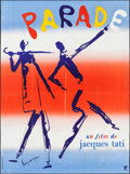"Movie Posters:Foreign, Parade (Planfilm, 1974). French Grande (45.75"" X 62""). Foreign.. ..."
