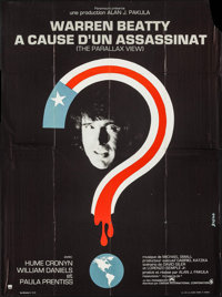 """The Parallax View (Paramount, 1975). French Grande (45.5"""" X 61.5""""). Thriller"""