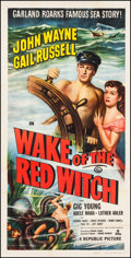 "Movie Posters:Adventure, Wake of the Red Witch (Republic, 1949). Three Sheet (41"" X 80.25"").Adventure.. ..."