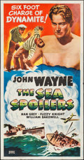 "Movie Posters:Action, The Sea Spoilers (Realart, R-1948). Three Sheet (41"" X 79"").Action.. ..."