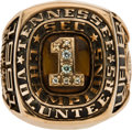 Football Collectibles:Others, 1991 Tennessee Volunteers Southeastern Conference Championship Ring....