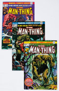 Bronze Age (1970-1979):Horror, Man-Thing Group of 6 (Marvel, 1970s) Condition: Average NM....(Total: 6 Comic Books)