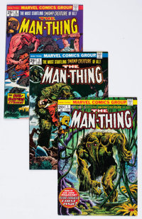 Man-Thing Group of 6 (Marvel, 1970s) Condition: Average NM.... (Total: 6 Comic Books)
