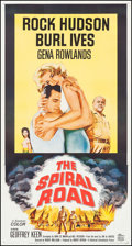 "Movie Posters:Adventure, The Spiral Road (Universal International, 1962). Three Sheet (41.5""X 78.5""). Adventure.. ..."