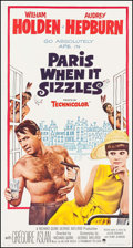 "Movie Posters:Romance, Paris When It Sizzles (Paramount, 1964). Three Sheet (41"" X 78.5""). Romance.. ..."