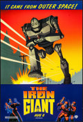 "Movie Posters:Animation, The Iron Giant (Warner Brothers, 1999). One Sheet (27"" X 40"") DS Advance. Animation.. ..."