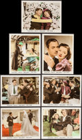 "Movie Posters:Comedy, Double Wedding (MGM, 1937). Color Glos Photos (7) (8"" X 10"").Comedy.. ... (Total: 7 Items)"