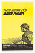 "Movie Posters:Drama, Easy Rider (Columbia, 1969). One Sheet (27"" X 41"") Style C. Drama....."