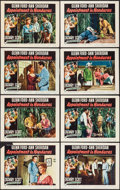 """Movie Posters:Adventure, Appointment in Honduras (RKO, 1953). Lobby Card Set of 8 (11"""" X14""""). Adventure.. ... (Total: 8 Items)"""