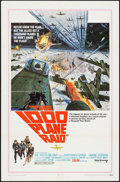 "Movie Posters:War, The 1000 Plane Raid (United Artists, 1969). One Sheet (27"" X 41"")& Lobby Card Set of 8 (11"" X 14""). War.. ... (Total: 9 Items)"