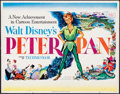 "Movie Posters:Animation, Peter Pan (RKO, 1953). Half Sheet (22"" X 28"") Style A. Animation....."