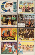 """Movie Posters:Musical, On the Town & Others Lot (MGM, 1949). Title Lobby Cards (2) & Lobby Cards (6) (11"""" X 14""""). Musical.. ... (Total: 8 Items)"""