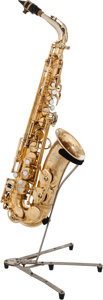 Musical Instruments:Horns & Wind Instruments, 1954 Selmer Mark VI Gold Plated Alto Saxophone, Serial # M57200....