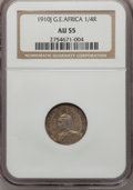 German East Africa, German East Africa: German Colony. Wihelm II Three Coin Certified Set of 1910,... (Total: 3 coins)