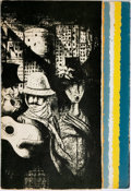 Books:Literature 1900-up, [Charles] Bukowski. INSCRIBED/LIMITED. Noel Rockmore, illustrator.Crucifix in a Deathand. Charles Bukowski: New Poems 1...
