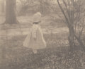Photographs:Photogravure, Alfred Stieglitz (American, 1864-1946). Spring, from CameraWork, 1901. Photogravure. 4-7/8 x 6-1/4 inches (12.4 x 15.7 ...