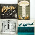 Books:Children's Books, Edward Gorey, illustrator. Group of Four Simon and Schuster Titles.New York: Simon and Schuster, [1958 - 1968].... (Total: 4 Items)